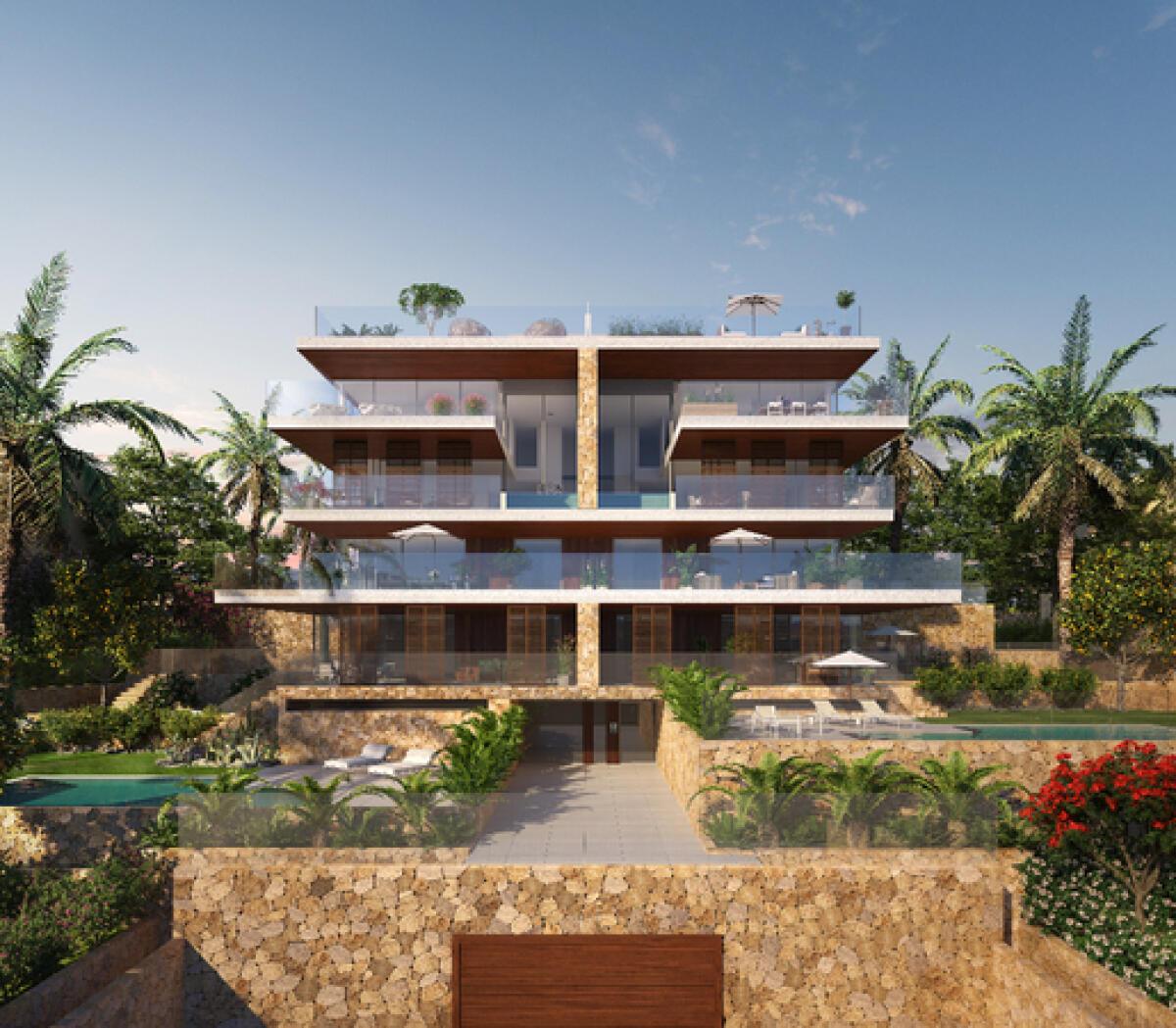Elegante apartamento d plex con jard n privado y piscina for Piscina y jardin mallorca
