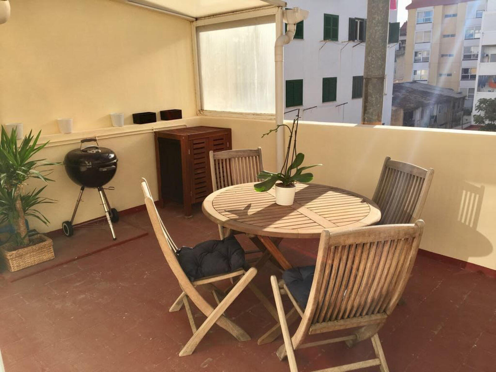 Bright apartment in Santa Catalina with private terrace ...